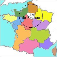 Carte de la r�gion Ile de France, Art Arts, Artisan Paris, Artisans Paris,
