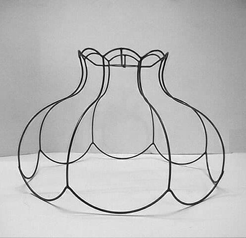 carcasse abat jour pagode lampe led autocollante. Black Bedroom Furniture Sets. Home Design Ideas