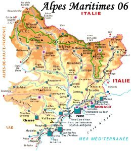 carte des artisans d'art des Alpes Maritimes, artisanat d'art, shopping art arts,